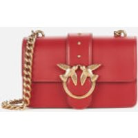 shop for Pinko Women's Love Mini Icon Simply Bag - Ruby Red at Shopo