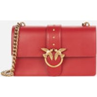 shop for Pinko Women's Love Classic Icon Simply Bag - Ruby Red at Shopo