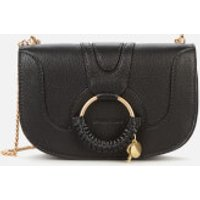 shop for See By Chloé Women's Hana Chain Shoulder Bag - Black at Shopo