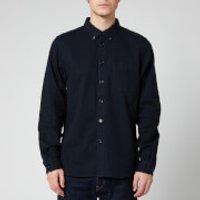 PS Paul Smith Men's Tailored Fit Shirt - Dark Navy - S