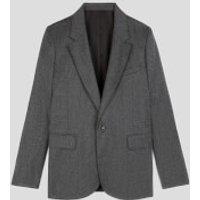 AMI Women's Classic Jacket - Grey - FR 36/UK 8