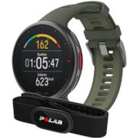Polar Vantage V2 GPS Multisport Watch & H10 HRM Bundle - M/L - Green