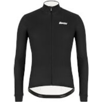 Santini Colore Long Sleeve Jersey - M - Black