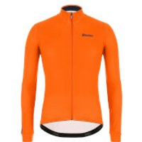 Santini Colore Long Sleeve Jersey - XL - Fluo Orange
