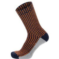 Santini Medium Profile Socks - M - Nautica Blue