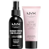 NYX Professional Makeup Radiant Primer & Setting Spray Duo Set