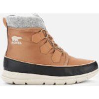 Sorel Women's Explorer Carnival Waterproof Boots - Elk - UK 4