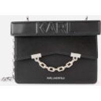 Karl Lagerfeld Womens K/Karl Seven Mini Shoulder Bag - Black
