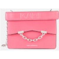shop for Karl Lagerfeld Women's K/Karl Seven Mini Shoulder Bag - Peony Pink at Shopo