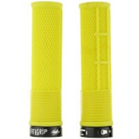 DMR Deathgrip Flangeless Handlebar Grip - Thick - 31.3mm - Gul Yellow