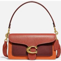 shop for Coach New York Women's Colorblock Tabby Shoulder Bag 26 - Rust Multi at Shopo