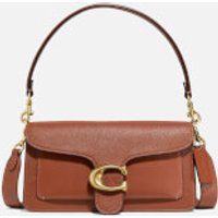 shop for Coach New York Women's Mixed Leather Tabby Shoulder Bag 26 - 1941 Saddle at Shopo