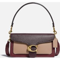 shop for Coach New York Women's Colorblock Tabby Shoulder Bag 26 - Wine Multi at Shopo