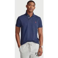 Polo Ralph Lauren Men's Mesh Knit Slim Fit Polo Shirt - Spring Navy Heather - L