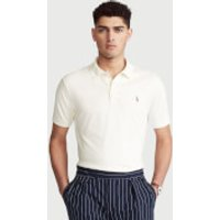 Polo Ralph Lauren Men's Interlock Pima Polo Shirt - Antique Cream - L