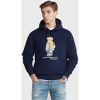 Polo Ralph Lauren Men's Magic Fleece Polo Bear Hoodie - Cruise Navy - XXL