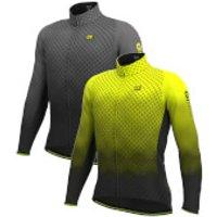 Ale R-Ev1 Velocity Wind G+ Long Sleeve Jersey - XXL - Fluro Yellow/Black