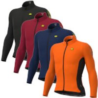 Ale Clima Protection 2.0 Warm Race Long Sleeve Jersey - XXL - Masai Red