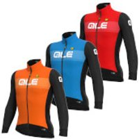 Ale Pr-S Logo Dwr Long Sleeve Jersey - L - Orange/Black