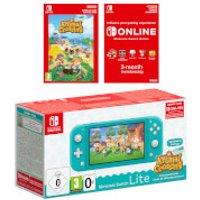 Nintendo Switch Lite (Turquoise) + Animal Crossing: New Horizons + Nintendo Switch Online 3 Months