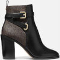 MICHAEL MICHAEL KORS Women's Aldridge Heeled Boots - Black/Brown - UK 4