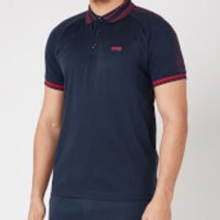 BOSS Athleisure Men's Paddy 4 Polo Shirt - Navy - XXL