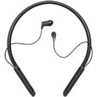 Klipsch T5 Wireless In-Ear Neckband In-Ear Headphones - Black Leather