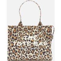 shop for Marc Jacobs Women's Leopard Traveler Tote Bag - Natural Multi at Shopo