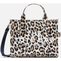 shop for Marc Jacobs Women's Small Leopard Traveler Tote Bag - Natural Multi at Shopo