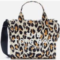 shop for Marc Jacobs Women's Mini Leopard Traveler Tote Bag - Natural Multi at Shopo