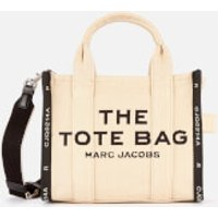 shop for Marc Jacobs Women's Mini Jaquard Traveler Tote Bag - Warm Sand at Shopo