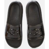 UGG Women's Hilama Slide Sandals - Black - UK 7