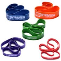 Myprotein Resistance Bands - Orange / 32-79Kg (Pair) - Multi