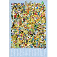 The Simpsons Cast 2012 - Maxi Poster - 61 x 91.5cm - The Simpsons Gifts