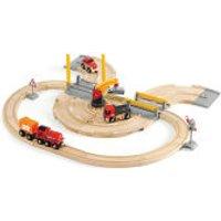 Brio Road And Rail Crane Set