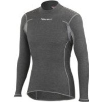 Castelli Flanders Warm Long Sleeve Baselayer - Grey - XXL