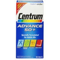 Centrum Advance 50 Plus Multivitamin Tablets - (100 Tablets)