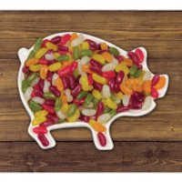 Pig Out Ceramic Snack Bowl