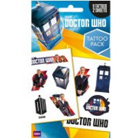 Doctor Who Mix - Tattoo Pack