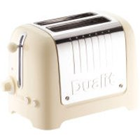 Dualit 26202 2 Slot Lite Toaster - Cream