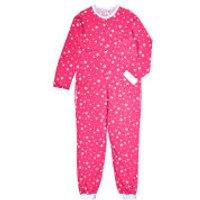 Womens Star Print Onesie - Pink