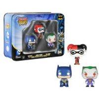 DC Comics Batman Pocket Mini Pop! Vinyl Figure 3 Pack Tin - Batman Gifts