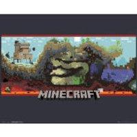 Minecraft Underground - Mini Poster - 40 x 50cm