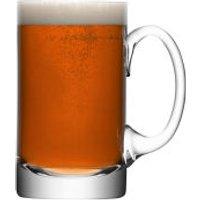 LSA Bar Beer Tankard - Clear (750ml) - Kitchen Gifts