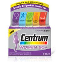 Centrum Women 50 Plus Multivitamin Tablets - (30 Tablets)