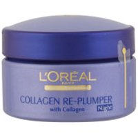 LOreal Paris Dermo Expertise Collagen Wrinkle De-Crease Replumping Night Cream (50ml)
