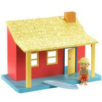 Bob The Builder Ready Steady Build Playset With Figure - Surf Shack - Cbeebies Gifts
