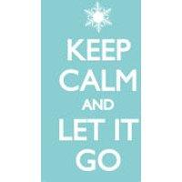 Keep Calm Let it Go - Maxi Poster - 61 x 91.5cm