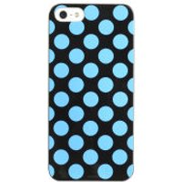 Cygnett Polkadot Case for iPhone 5 - Black / Blue - Iphone 5 Gifts