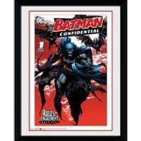 DC Comics Batman Comic Bats - 8x6 Framed Photographic